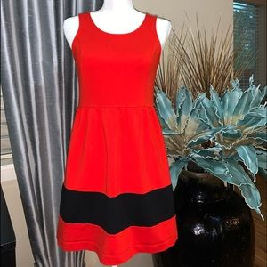 Kensie red dress size.S